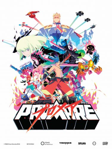 Promare-KV-4-376x500 Studio TRIGGER's Worldwide Hit 'PROMARE' on Blu-ray+DVD, SteelBook & Digital This May from GKIDS, Shout! Factory
