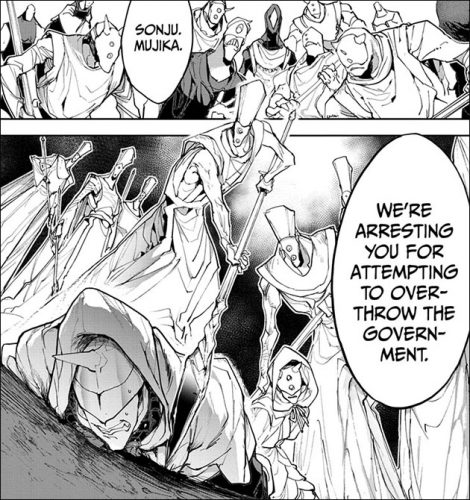 "Promised-Neverland-Wallpaper-164-470x500 Yakusoku no Neverland (The Promised Neverland) Chapter 164 Manga Review – ""Fear of Promises"""