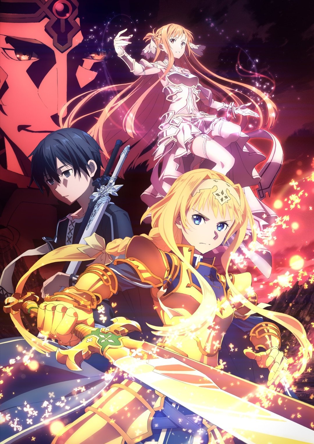 "Sword-Art-Online-Alicization-War-of-Underworld-dvd Action Packed Anime ""Sword Art Online -War of Underworld- Part 2 (Final Season)"" is Heating Up This Summer!"