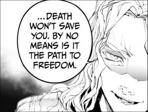 "Yakusoku-no-Neverland-The-promised-Neverland-166-Wallpaper Yakusoku no Neverland (The Promised Neverland) Chapter 166 Manga Review – ""The Mouse Traps the Cat"""