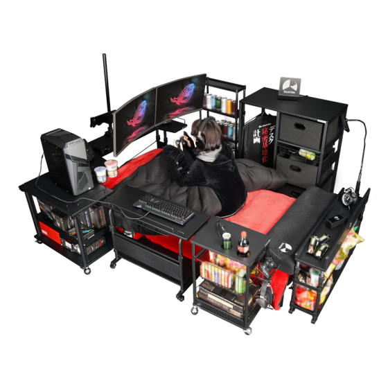 Bauhutte-logo-560x315 Dreams Do Come True! Gaming Bed Furniture Set for All Your Otaku Lifestyle Needs is Now On Sale!