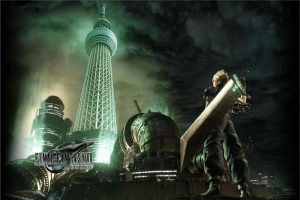 Pop-Up Otaku Hot Spot - Tokyo Skytree in Midgar - Final Fantasy VII: Remake Event