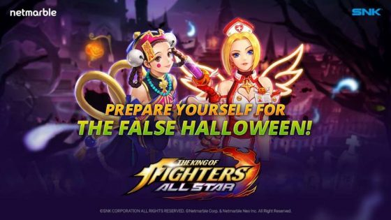 KOF-ALL-STAR-SS-1-560x315 All-new 'False Halloween'-Themed Fighters and Events Available Alongside New Content for The King of Fighters All-Star!