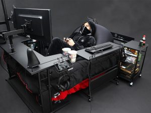 Put ALL of Your Gaming Worries to Rest! New Gaming Bed from Bauhutte is the NEW Solution!