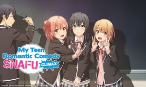 "Sentai Snaps Up Season 3 of ""My Teen Romantic Comedy SNAFU"""