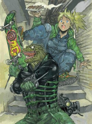 "Dorohedoro-Wallpaper-1-700x394 Dorohedoro Review – ""Don't Step On My Eyeball!"""