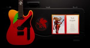 Evangelion Ace Pilot Asuka's Rockin' TELECASTER Guitar is Unveiled!