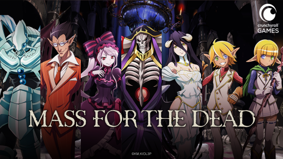 Overlord-Mass-for-the-Dead-SS-1-560x315 Crunchyroll Games Launches Pre-Reg for New Mobile Game!