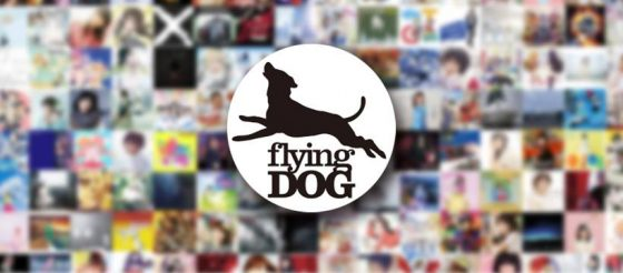 "bg_FlyingDog-Logo-560x246 Anime Song Music Label ""FlyingDog""  Opens Official English SNS Accounts!"