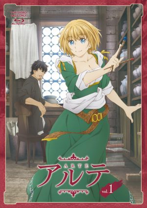 Arte-dvd-1-359x500 Arte is One of the Best Examples of Girl-Power in Recent Anime