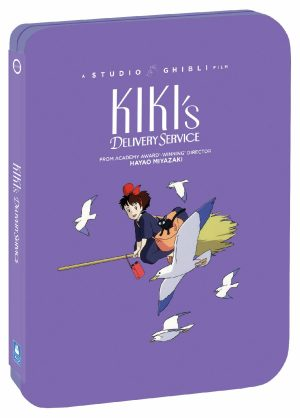 Studio Ghibli Steelbooks 'Kiki's Delivery Service' & 'Nausicaa of the Valley of the Wind' Out August 25 from GKIDS, Shout! Factory