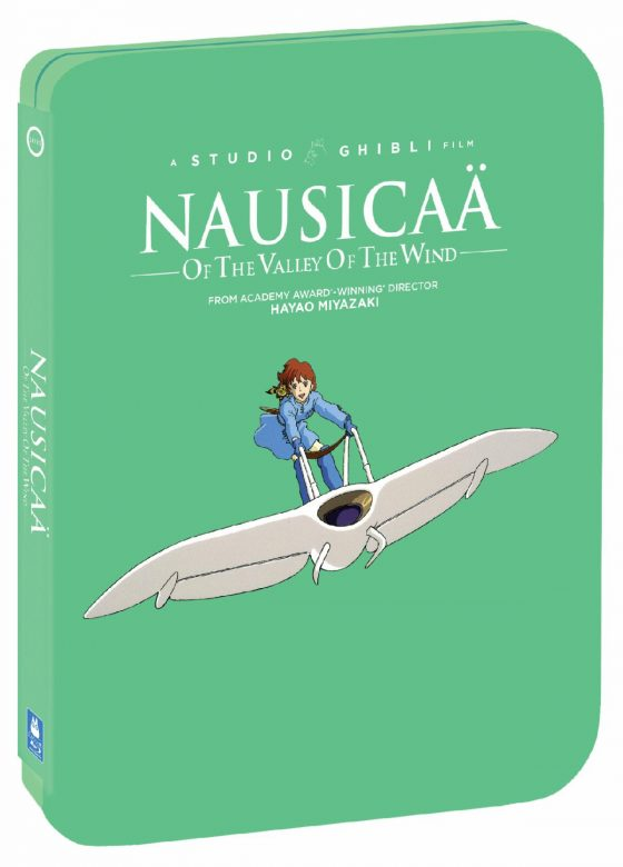 Ghibli-Kikis-Delivery-Service-SS-1-560x780 Studio Ghibli Steelbooks 'Kiki's Delivery Service' & 'Nausicaa of the Valley of the Wind' Out August 25 from GKIDS, Shout! Factory