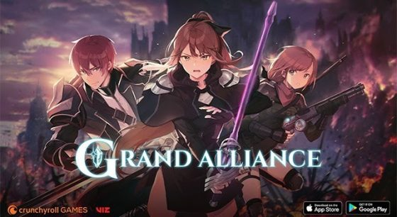 Grand-Alliance-SS-1-560x306 VIZ and Crunchyroll Team Up With a New RPG Brawler!