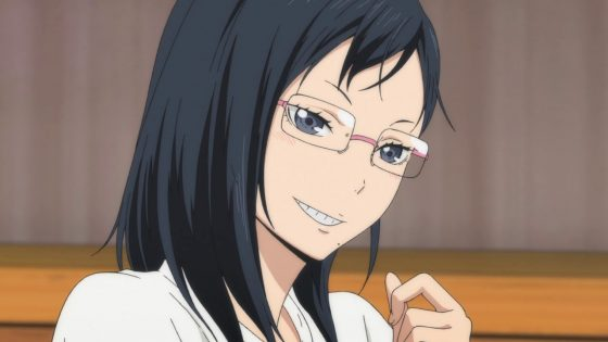 Haikyuu-Wallpaper Haikyuu!!'s Kiyoko Shimizu Is The Queen of Unpredictability