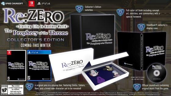 re-zero-the-prophecy-of-the-throne-ss-8-560x258 Re:Zero Receiving a Video Game?! More Details Inside!
