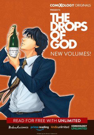 The Drops of God New Volumes Debut from Kodansha Comics & comiXology Originals!