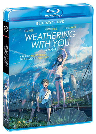 """Weathering-with-you-Blu-Ray """"Weathering With You"""" comes to digital on 8/4, Blu/DVD/Steelbook on 9/15, from GKIDS and Shout! Factory"""
