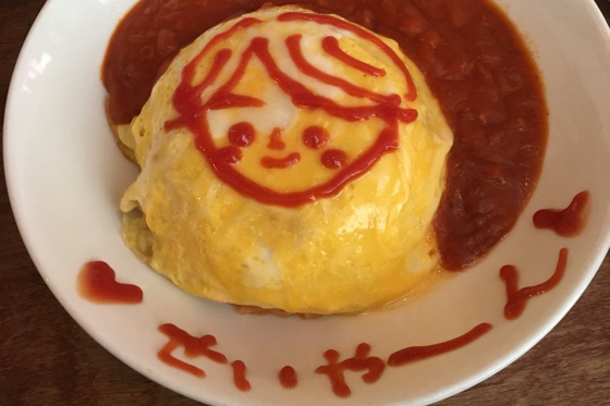 omulette-rice-from-charlotte How to Make the Ultimate Japanese Comfort Food - Omurice!