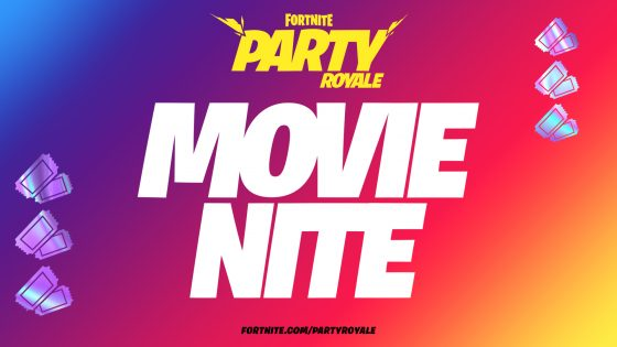 Fortnite-movie-night-SS1-560x315 Fortnite Movie Night?! Now this Sounds Intriguing!