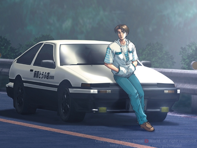 Initial-D Top 5 BEST Anime Supervised by Real Companies!