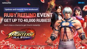 The King Of Fighters ALLSTAR Offers Huge Benefits And Features In June's Update