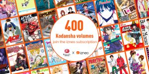 All-You-Can-Read Kodansha Comics & VERTICAL Manga on Izneo!!