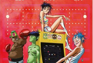 "Gorillaz & ScHoolboy Q Pay Homage to Arcade Classic with ""PAC-MAN"" Release!"