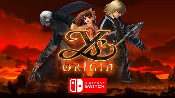 ArtYsO_Switch-560x315 Cult Classic Demon-Slaying RPG Ys Origin Coming to Nintendo Switch in 2020!