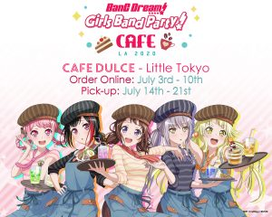 BanG Dream! Girls Band Party! Official Collaboration Cafe Online Event Confirmed!