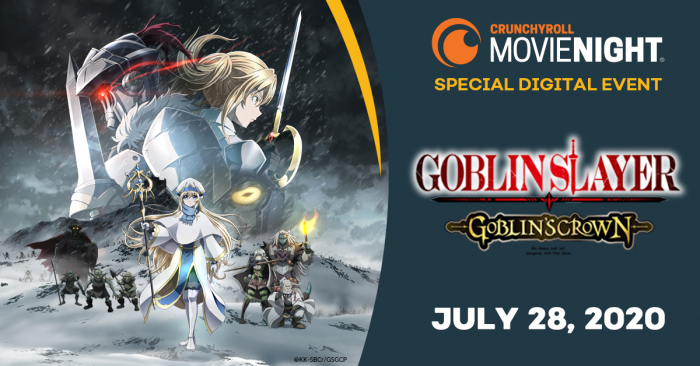 "CMN_GoblinSlayer-700x366 Crunchyroll Announces U.S. Digital Premiere of ""GOBLIN SLAYER -GOBLIN'S CROWN-""!"