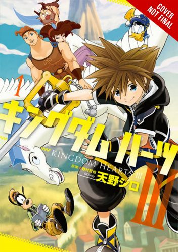 Kingdom-Hearts-III-Manga-Cvr-352x500 Yen Press Announces 3 New Manga Acquisitions Including New Disney Titles!