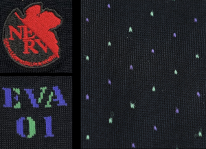 Show Your NERV in These Stylish New Evangelion Socks!