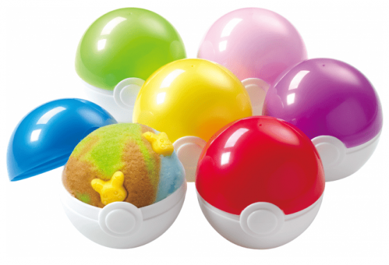 Pokemon-31-ice-cream-560x441 Baskin Robbins x Pokemon Collab! Pikachu Ice Cream Served in a Pokeball and More Available This Season!