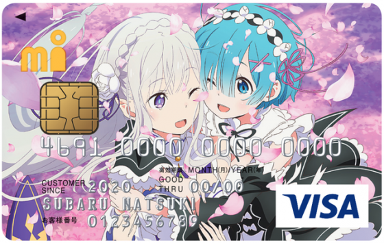 RE-ZERO-MI-CARD-Header-560x228 There's a New Re:Zero Point Credit Card and We Want It Now!