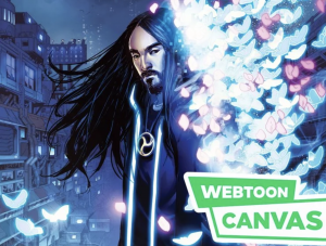 Steve Aoki's Series, Neon Future, Hops Over to Webtoon Canvas! Could an Anime Come Soon?