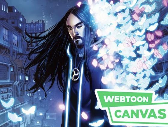 Steve-Aoki-Neon-Future-Webtoon-Canvas-560x424 Steve Aoki's Series, Neon Future, Hops Over to Webtoon Canvas! Could an Anime Come Soon?