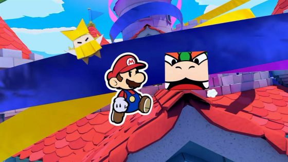Switch_PaperMarioTheOrigamiKing_screen_01-560x315 This Week's Nintendo Downloads: Extend a Helping Hand in Paper Mario: The Origami King