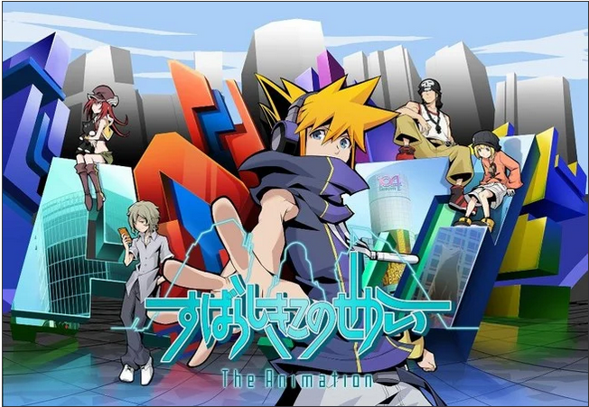 "The-world-ends-with-you-the-animation Why Stop at ""The World Ends with You""? - Other Nintendo DS Games That Deserve Anime Adaptations!"