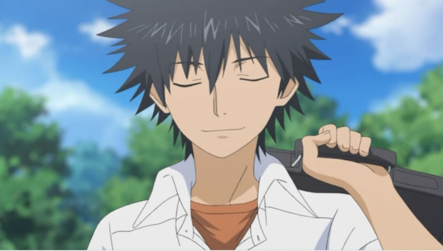 Toaru-Kagaku-no-Railgun-A-Certain-Scientific-Railgun-Ep-07-Touma-881x500 [Moments in Anime] 7/18 - Touma Kamijou Ends the Graviton Bombings in A Certain Scientific Railgun