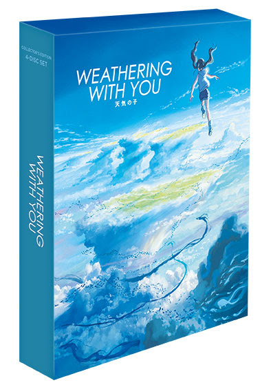 Weathering-with-You-Collectors-shout-factory GKIDS And Shout! Factory Present: Weathering With You (Collector's Edition), Available this Fall
