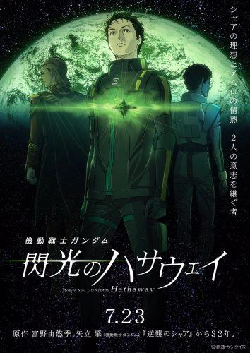 gundam-hathaways-flash-wallpaper-354x500 Why You Should Be Pumped For Kidou Senshi Gundam: Senkou no Hathaway (Mobile Suit Gundam: Hathaway's Flash)