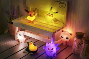 New Pokemon Swag Alert! Pikachu, Eevee, & Friends Coming to Light Up Our Life!