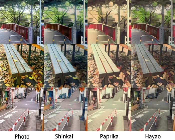 AnimeGAN-700x560 A New Program Has Been Developed that Can Give Photos a Makoto Shinkai or Hayao Miyazaki Look!