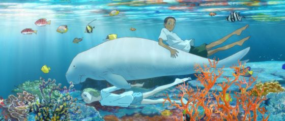 Children-of-the-Sea-Graphic-500x500 Children of the Sea Blu-ray + DVD Set Review - From the Deepest Ocean to the Farthest Star and Back