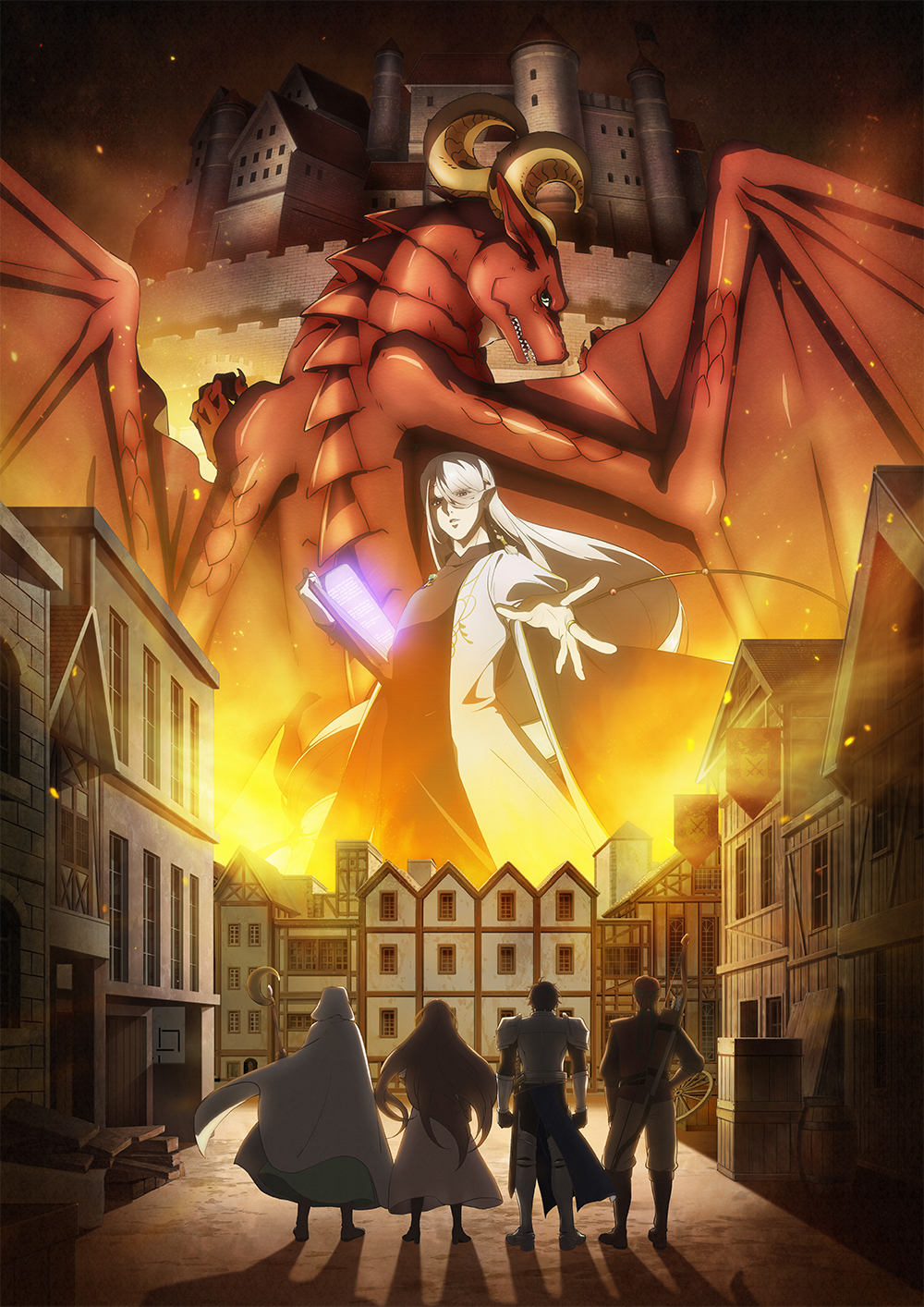 """Dragon-Ie-o-Kau.-Dragon-Ie-o-Kau-KV """"Dragon Goes House-Hunting"""" Unveiled New KV & PV !!"""