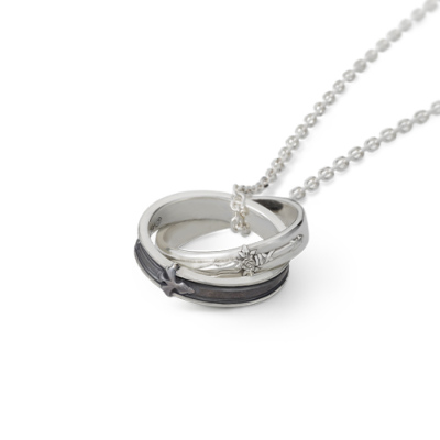 Kirito-Eugeo-Necklace Love SAO? This Delicate Kirito & Eugeo Dual-Ring Necklace Is Available for Pre-Order!