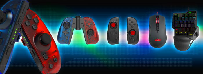 NEXiLUX-Lineup-700x257 Upgrade Your Gaming Gear with NEXiLUX's New Joy-Con Alternative, Gaming Keyboard, and Mouse!