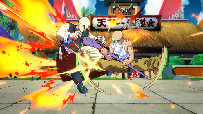 Screenshot-11-700x394 Master Roshi Officially Joins the DRAGON BALL FighterZ Brawl on September 18th!
