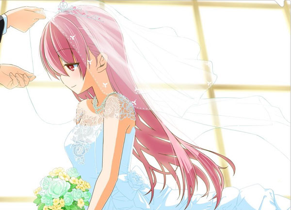 Tonikaku-Kawaii-wallpaper-1 An Out-of-this-World Marriage in Fly Me to the Moon Vol. 1