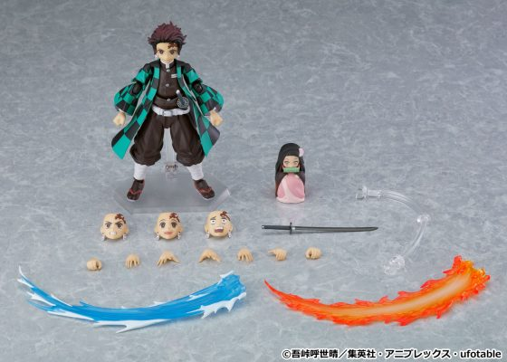 Demon-Slayer-Tanjiro-DX-figma2-560x400 Demon Slayer Tanjiro Kamado and Tanjiro Kamado DX Edition figma Figures Now Available for Pre-Order!
